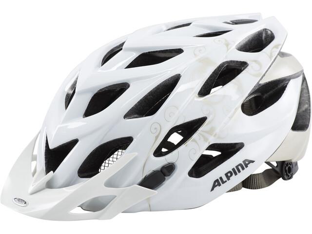 Alpina D-Alto Fietshelm, white-prosecco